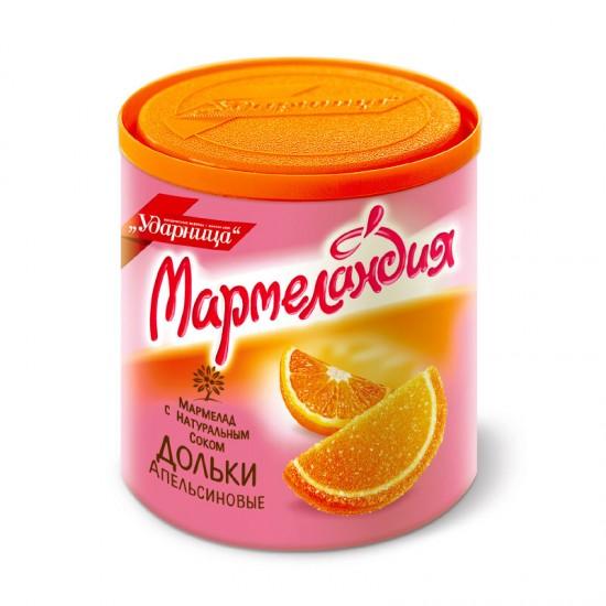 Мармеландия апельс. дольки  /Ударница/, 250гр ШТУЧНО